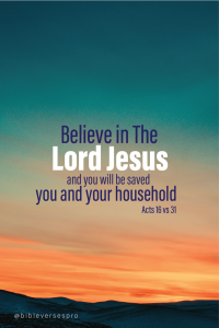 Bible Verses About Believing In God 7