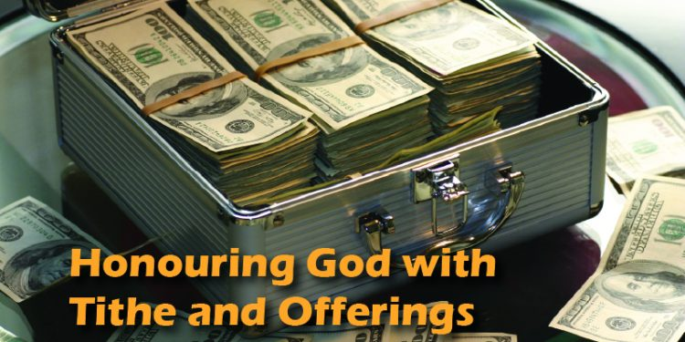 Honoring God With Tithe And Offering