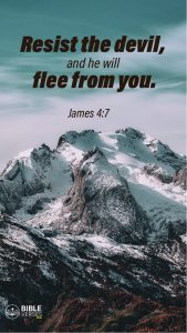 James 4:7 - Bible Verses About Being Blessed - Mobile Wallpaper