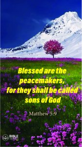 Matthew 5:7 - Bible Verses About Being Blessed - Mobile Wallpaper
