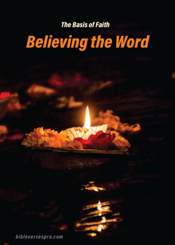 Believing The Word